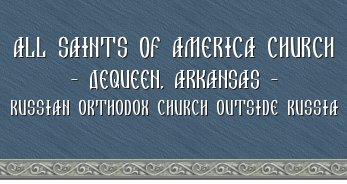 All Saints of America Orthodox Church